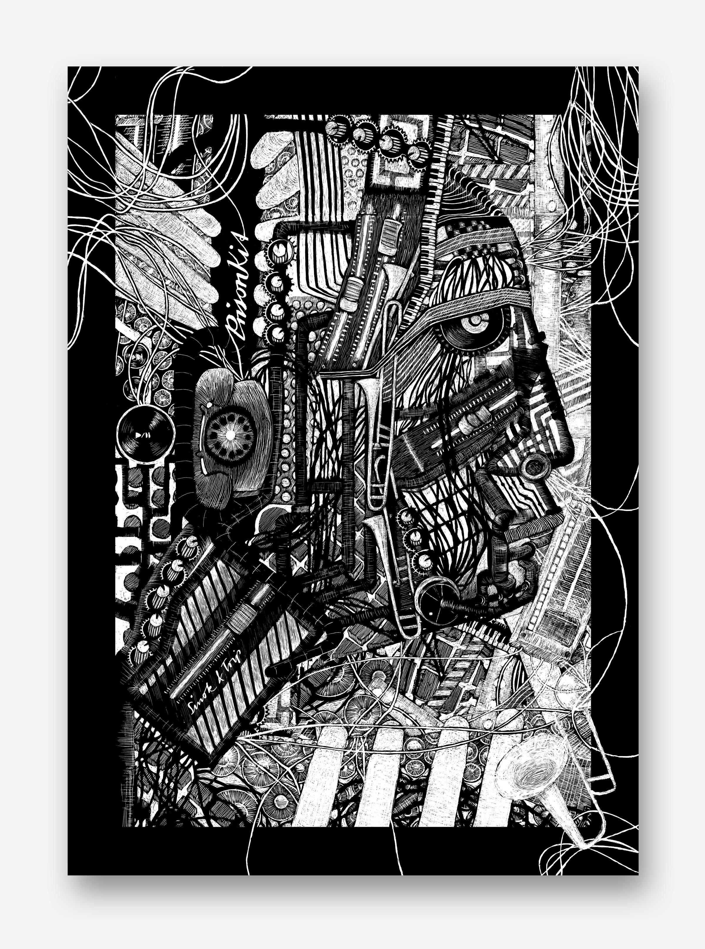 Prison Kit, Warteschleifen, Poster, Hip Hop
