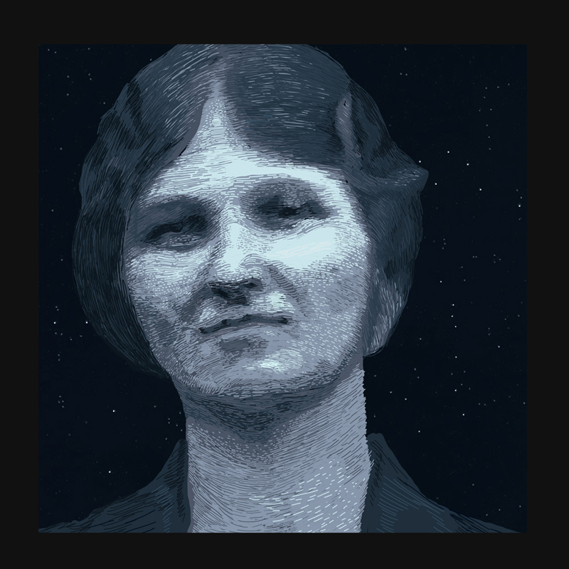 Portrait of Cecilia Payne-Gaposchkin